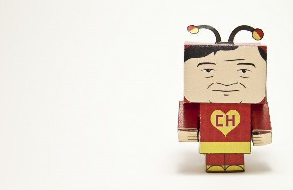El Chapulin Colorado papercraft