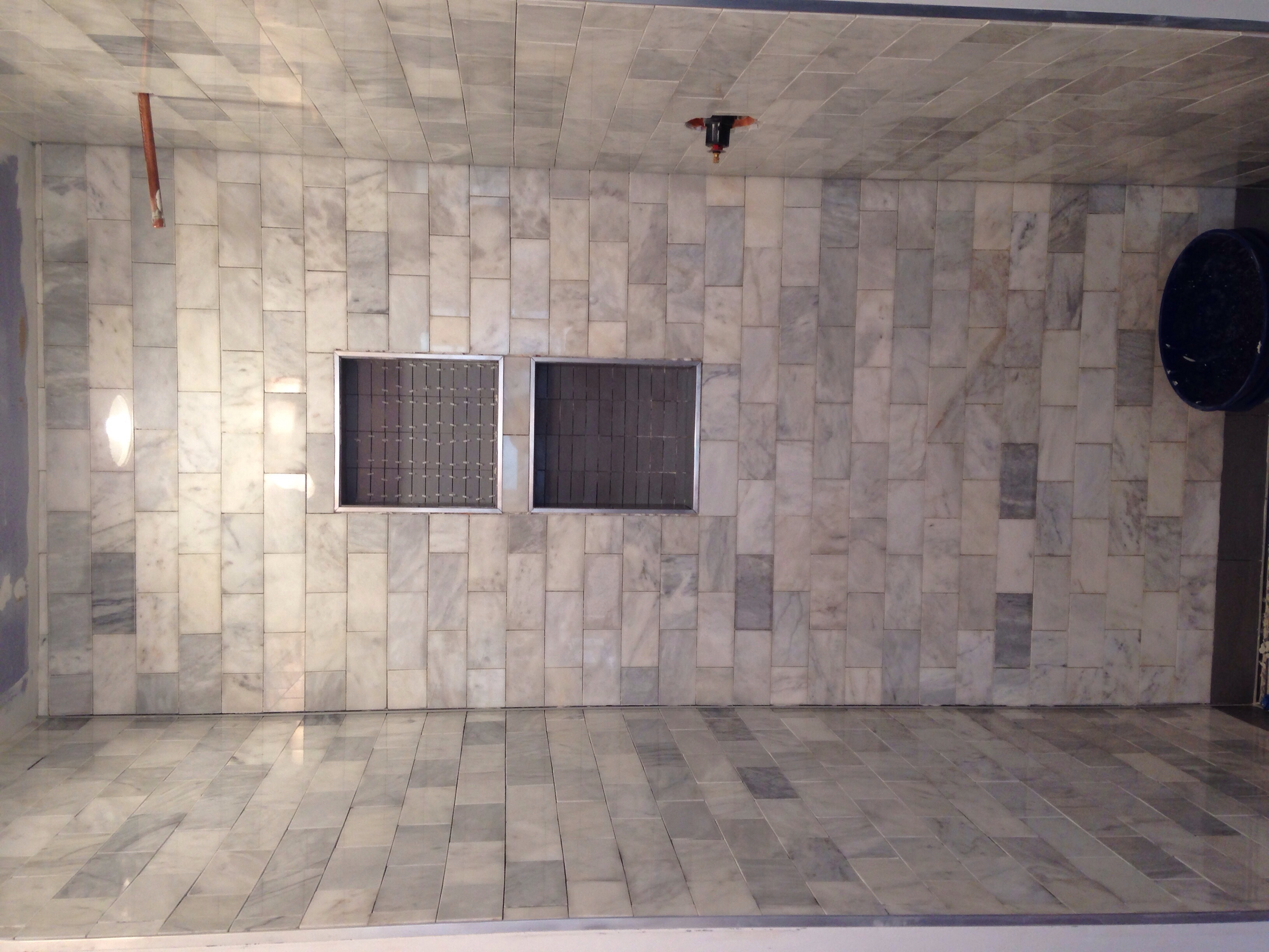 Tiled Walls the shower walls are tiled helen housand 8985 by xevi.us