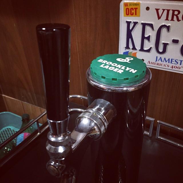 Tapped a fresh keg
