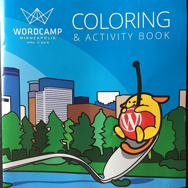 Life is pretty great when you have a CEO who surprise-mails you a WordPress coloring book. #team10up