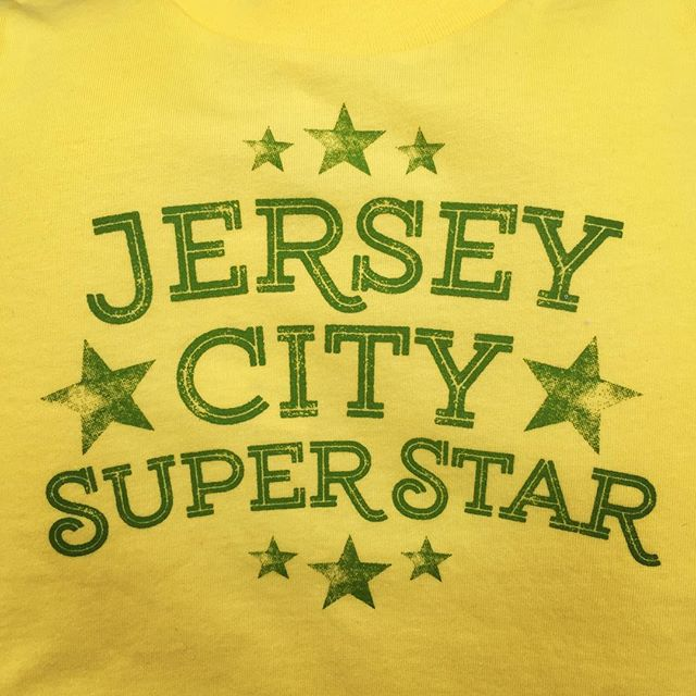 My kid is a Jersey City Superstar and now has the shirt to prove it.