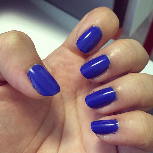 Best blue nail polish yet. #julepsophia