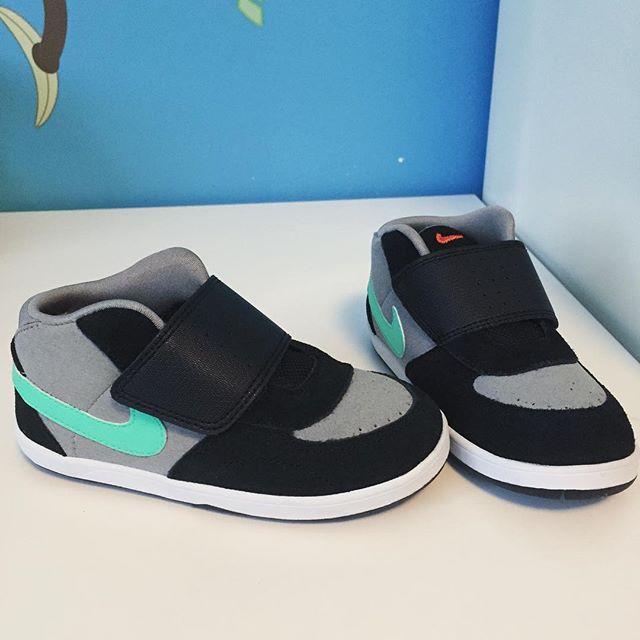 My kid gonna have the flyest shoe game at school. So jealous of these.