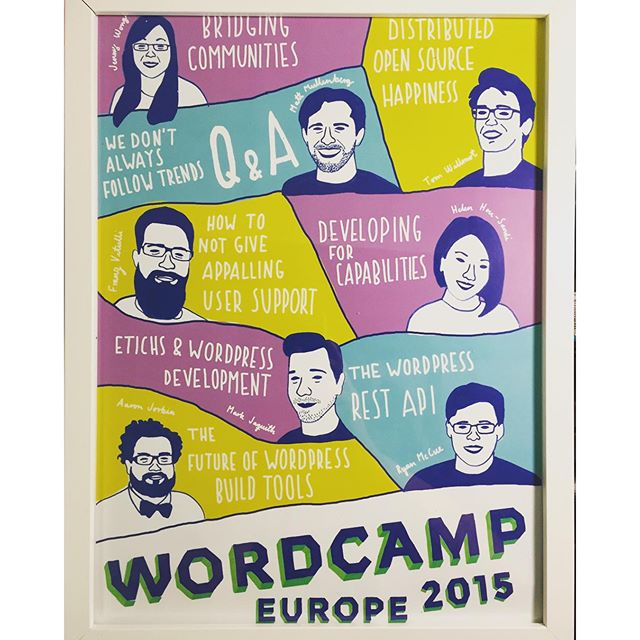 Thanks, @WCEurope! What a cool thing to remember #wceu by.