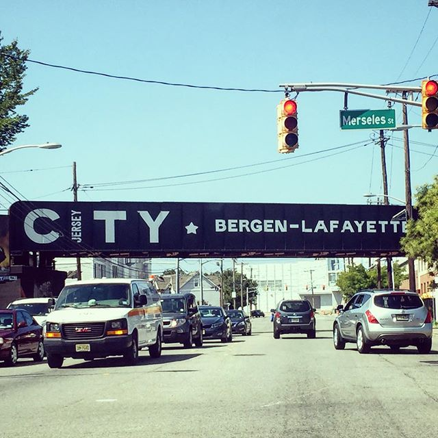 Really digging this welcome into our old hood of Bergen-Lafayette. #jerseycity #jerseycityart