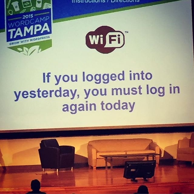 I don't think I'm ready to log into today. #wctpa