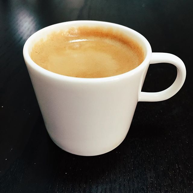Found these gorgeous bone china espresso cups at... IKEA!