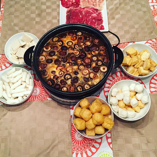 Couldn't wait for cold weather to do the first hot pot of the season.