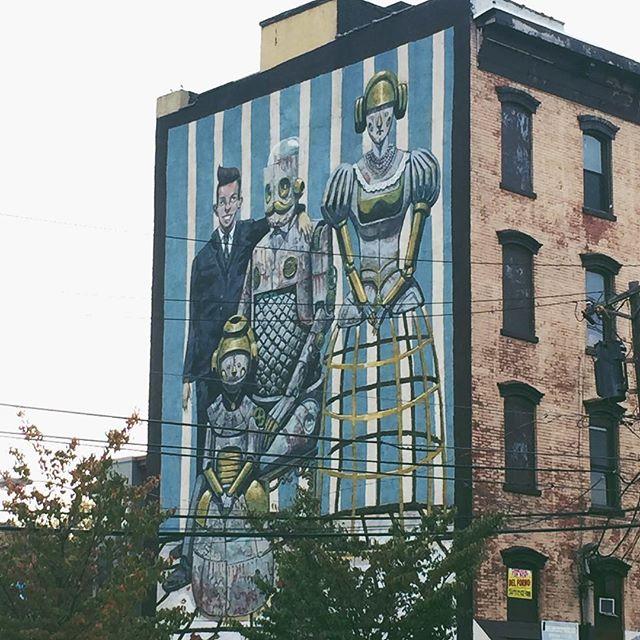 Mural at Barrow and Columbus. #jerseycityart