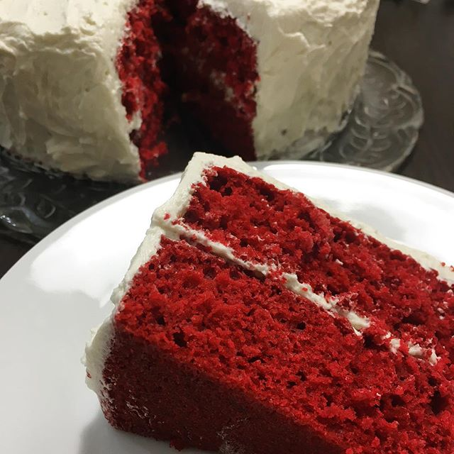 Red velvet cake seems kind of appropriate for an American Chinese New Year.