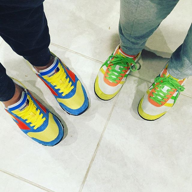 Couple's shoe game level: brights.