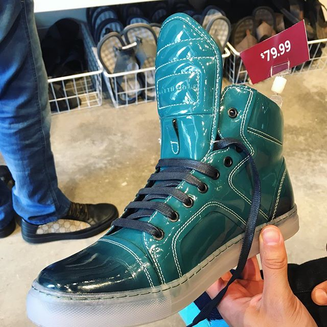 Current status: trying to convince my husband he needs these high tops.