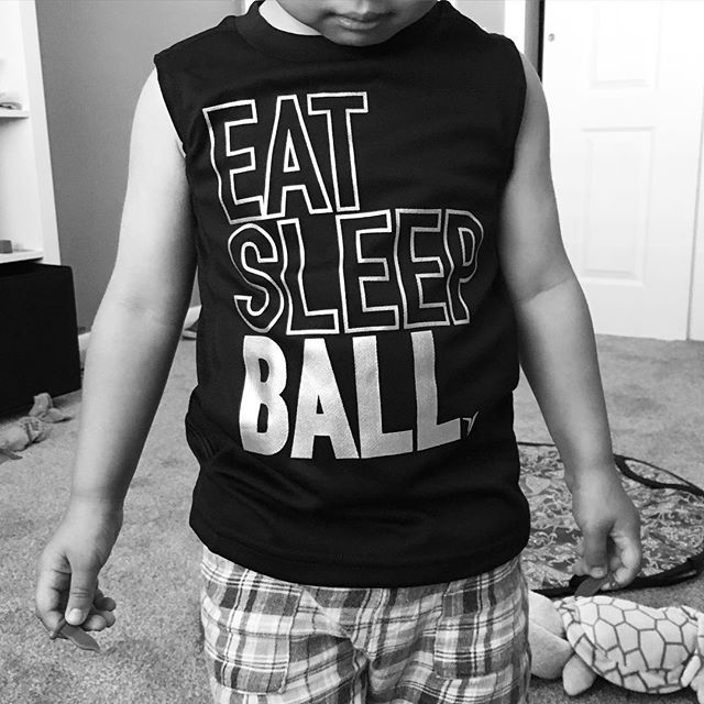 Eat. Sleep. Ball.