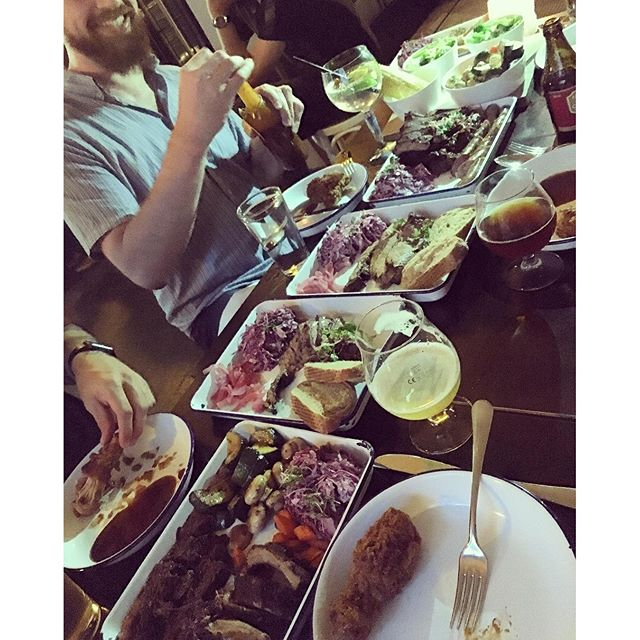 Think this is enough BBQ for five people?