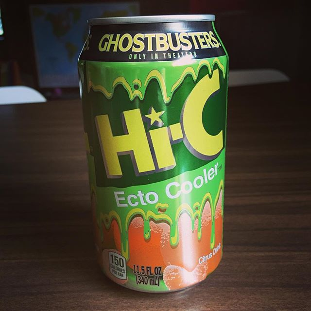 While y'all relive the 90s via Pokemon, I'll be over here sipping on some Ecto Cooler.