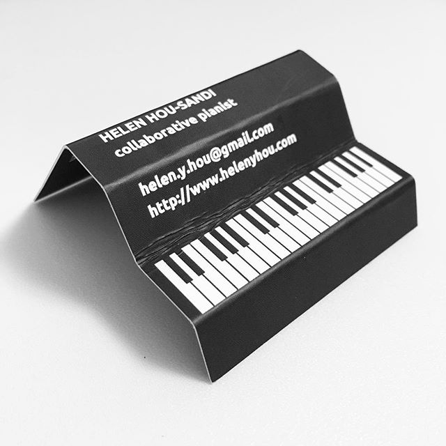 Man I had the coolest business cards when I was a freelance pianist.