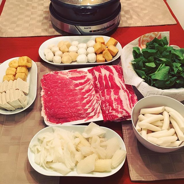 First hot pot of the season deserves a picture.