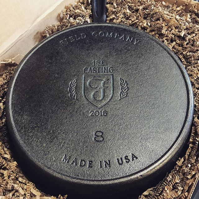 My @fieldcompany skillet is here!