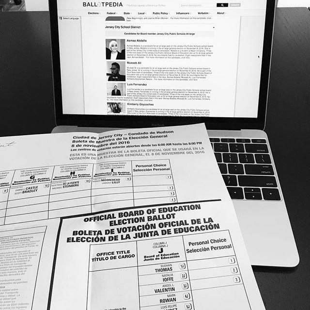 Last minute ballot study