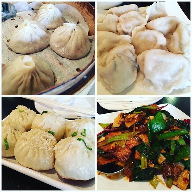 Shanghainese food in Jersey City. Dumplings are my happy place.