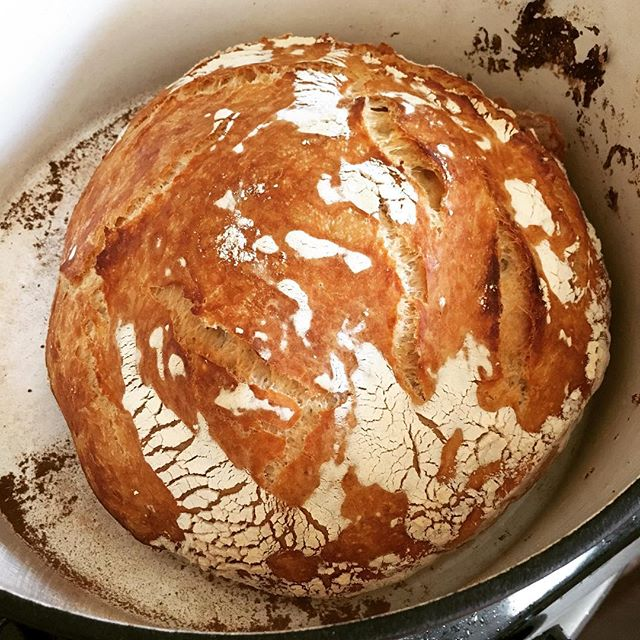 "Something about listening to the crackle of fresh-baked bread over Usher's ""You Make Me Wanna…"" feels so right."