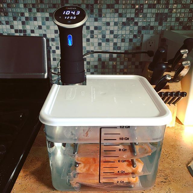 Upping my sous vide game