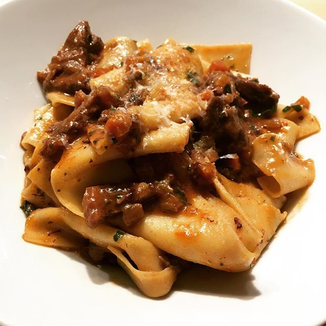 Pressure cooker short rib ragu = great success! Recipe forthcoming :)