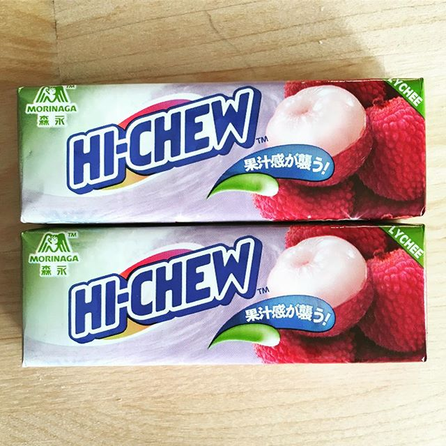 Lychee Hi-Chew - these might be my most favorite kind yet.