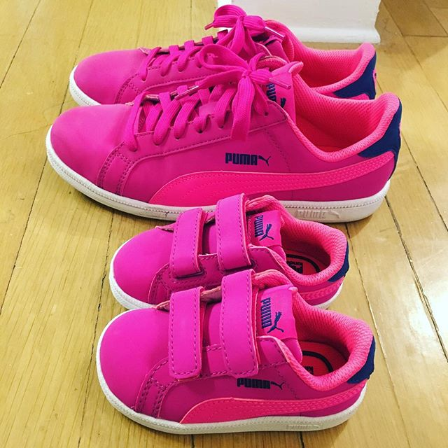 When the matching toddler shoes go on sale ‍ #shoeaddict
