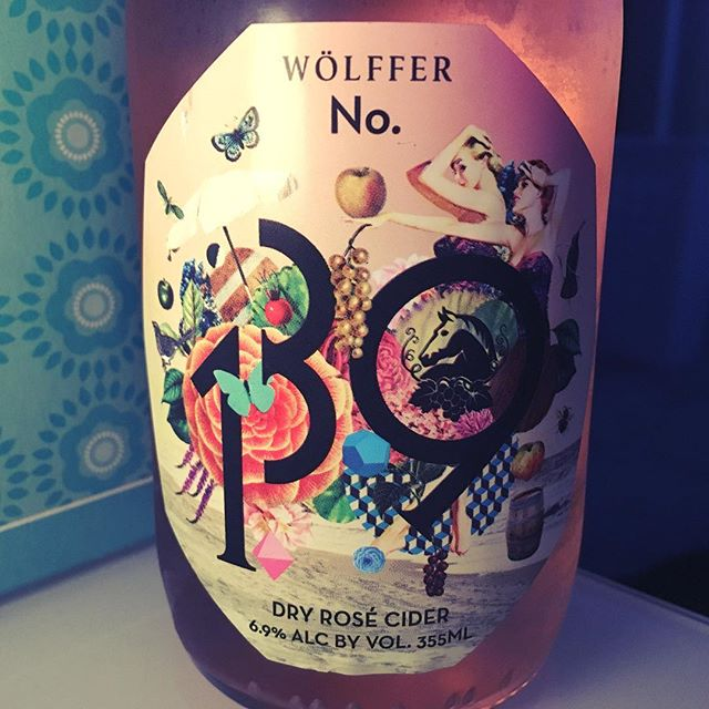 Not sure it gets more bougie than a dry rosé cider coming out of the Hamptons but, #yolo.