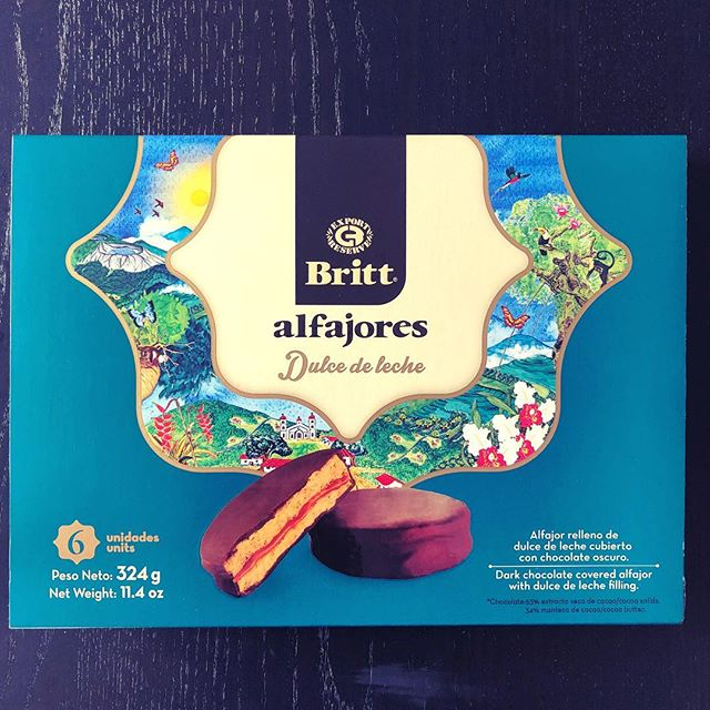No trip is complete without alfajores.