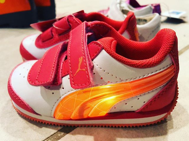 Obviously I could not say no to these light up toddler Pumas.