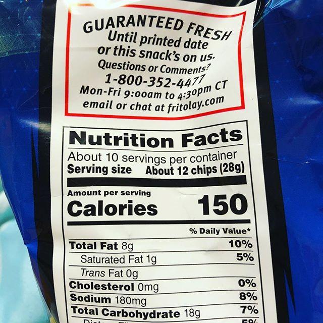 Who tf eats just 12 Doritos?