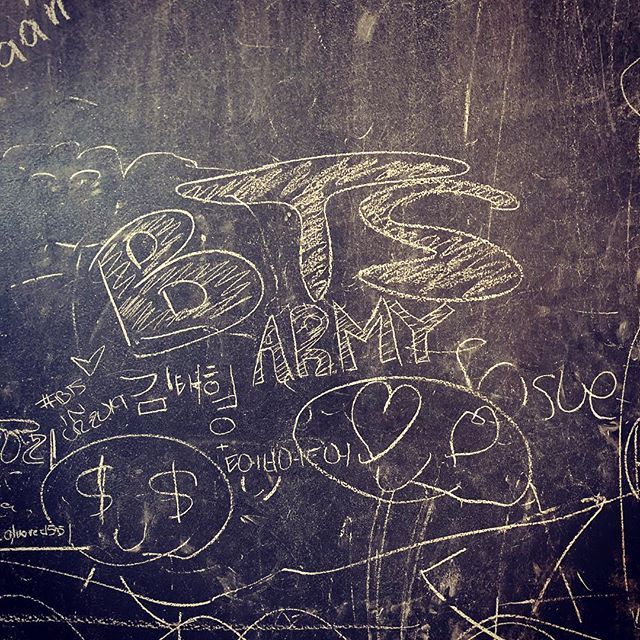 The BTS Army is strong even in Costa Rica.
