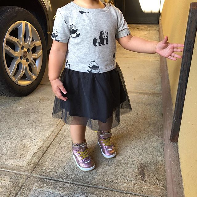 My #styleinspiration is my baby girl