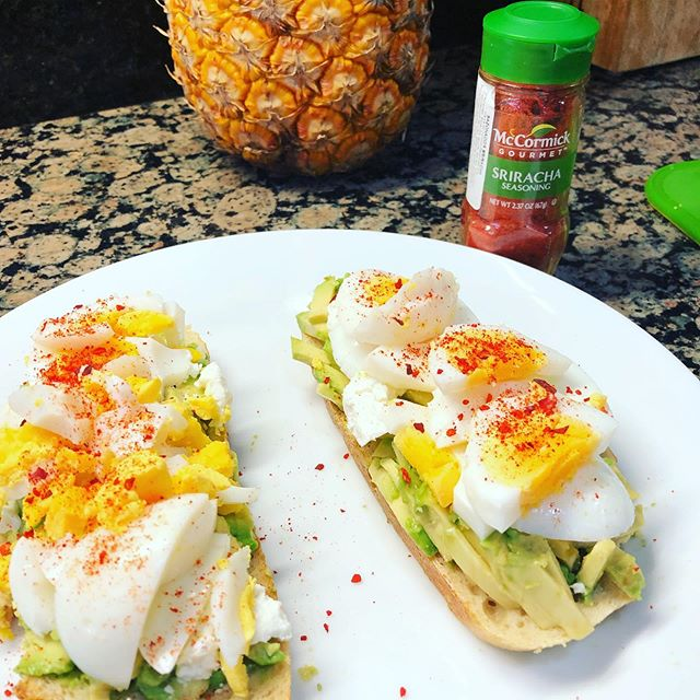 This sriracha seasoning is delicious on my millennial avocado toast