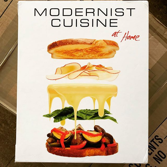 Forgot I'd picked up a clearance copy of Modernist Cuisine at Home right before moving, finding this in a box was like a surprise present!