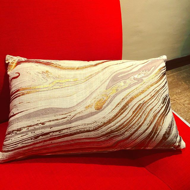 "I'm not much for throw pillows but my oldest asked for ""the Jupiter pillows"" so how could I say no?"