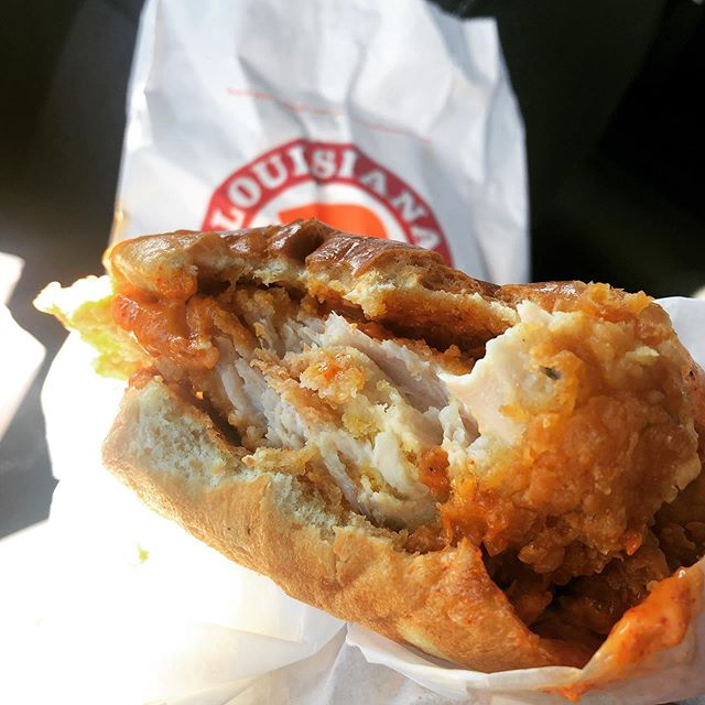 As a fried chicken sandwich connoisseur, I am pleased to finally be able to confirm that the Popeyes chicken sandwich is indeed transcendent.
