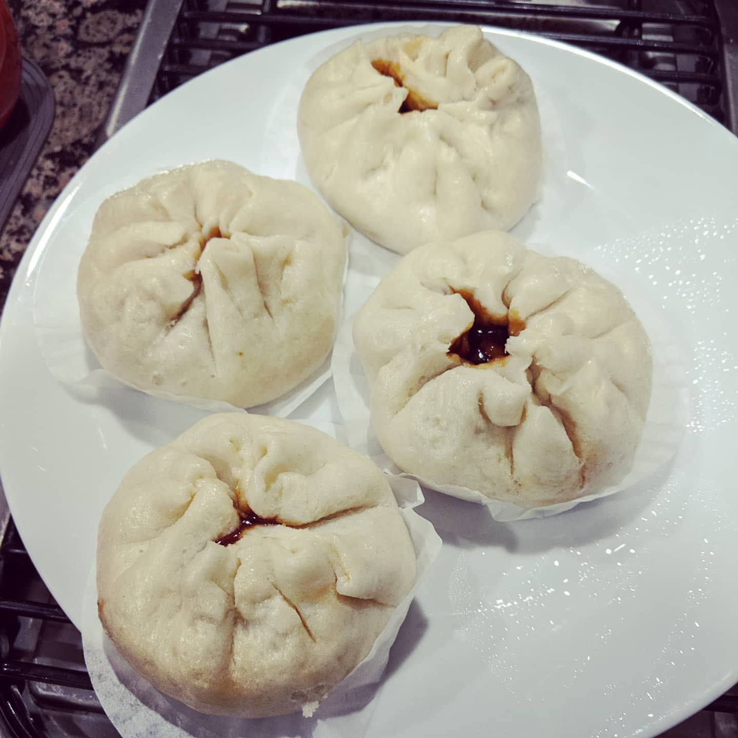 Made char siu bao for the first time and they are pretty banging if I do say so myself