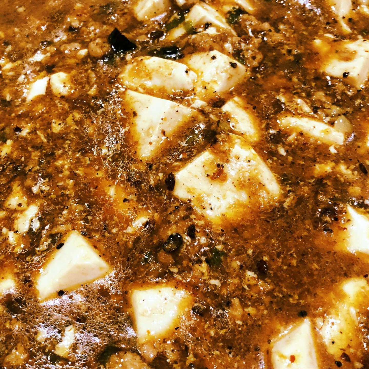 Can't believe it took me this long to finally try making mapo tofu