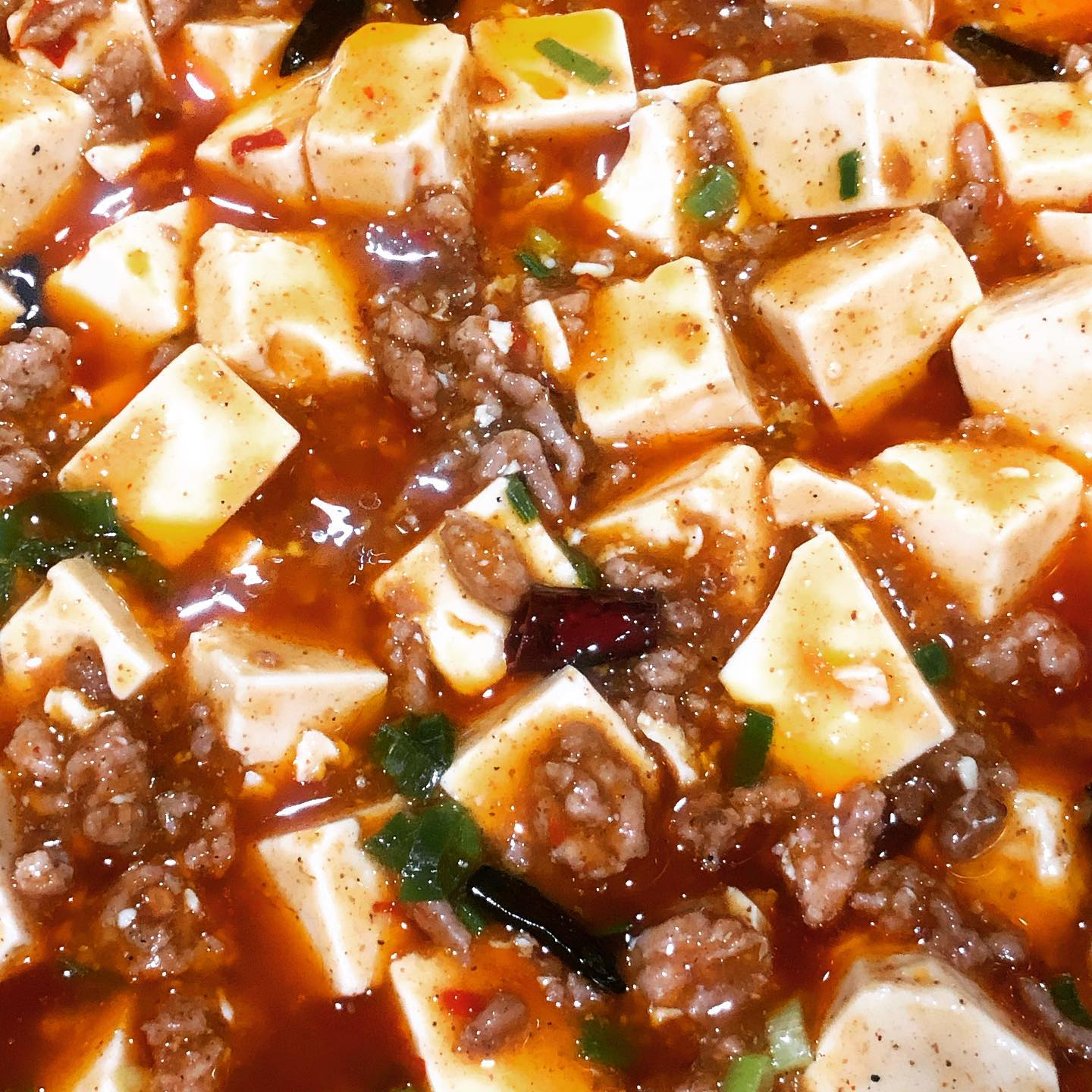 Getting better at making mapo tofu