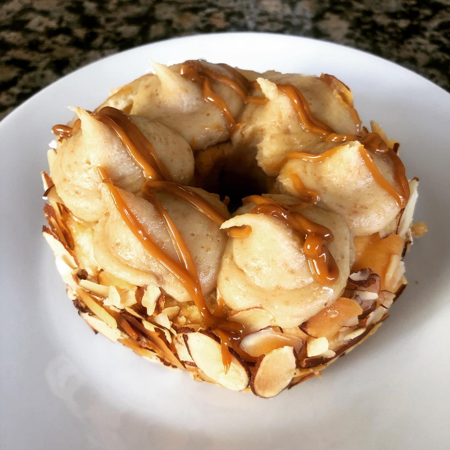 It's a cheesecake donut for breakfast kind of day
