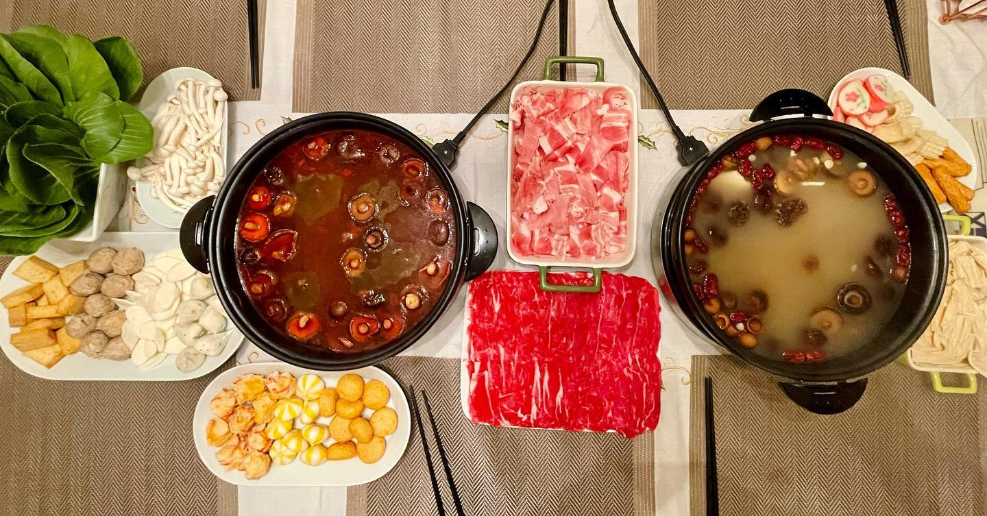 No holiday is complete without hot pot.