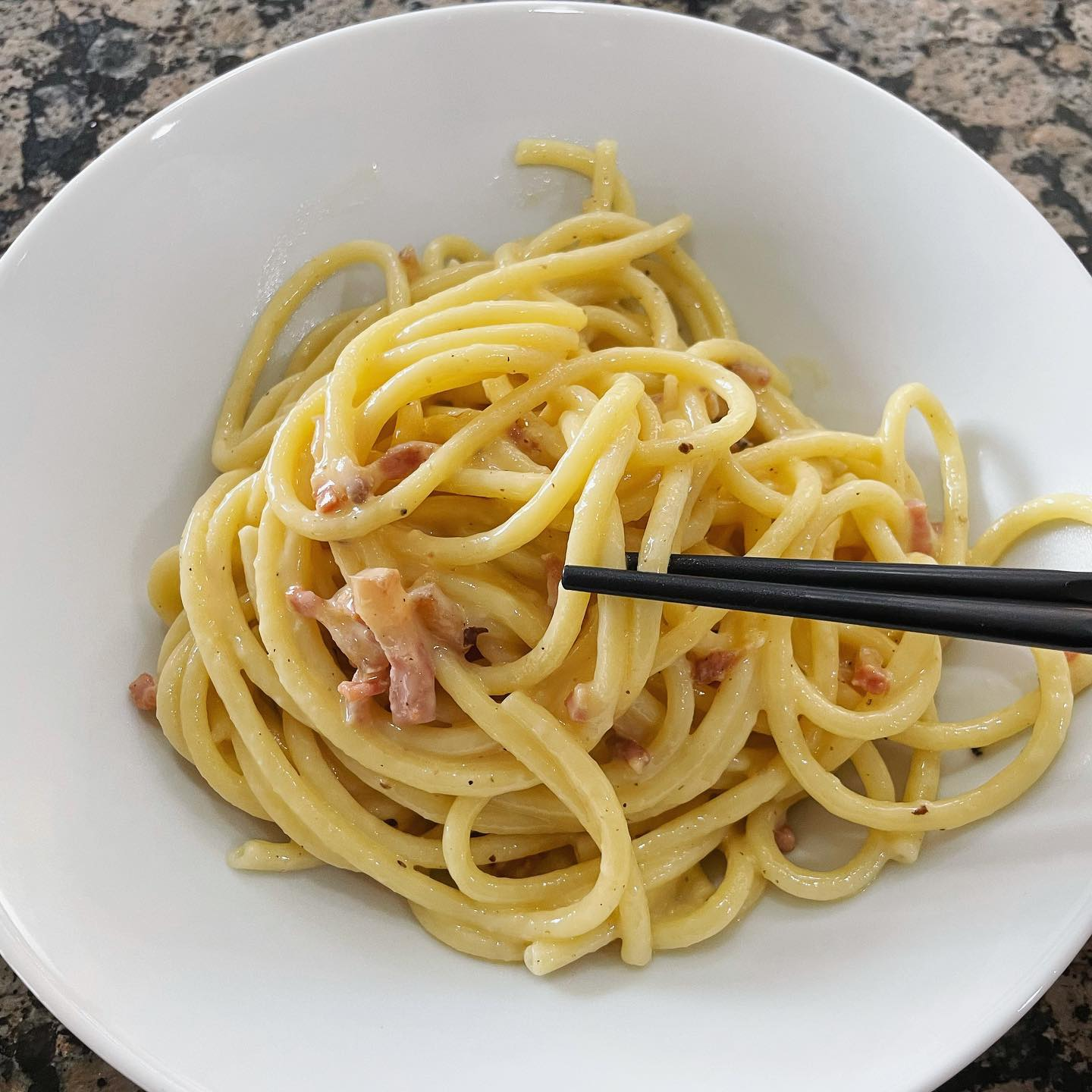 If I eat my carbonara with chopsticks will I be banned from Italy for life?